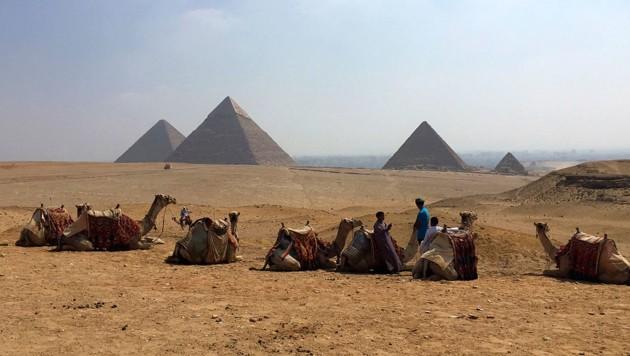 Den Urlaub in Ägypten hatte eine Wienerin für sich und ihre Familie vor Corona gebucht. (Bild: Associated Press)