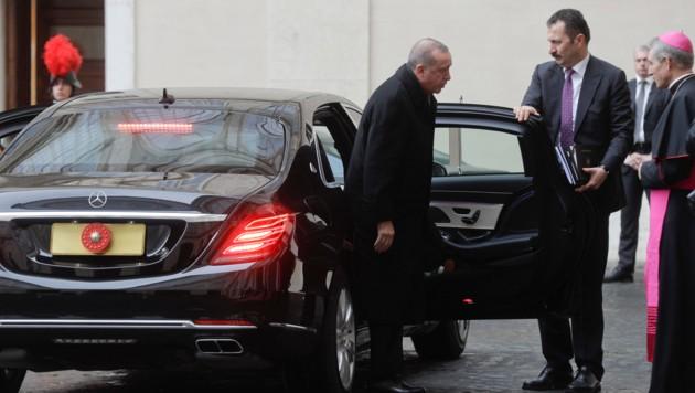 Recep Tayyip Erdogan in Rom
