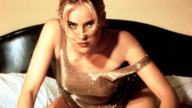 "Sharon Stone in ""Basic Instinct"" (1992) (Bild: Moviestore Collection/face to fa)"