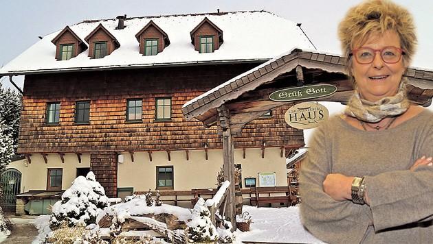 Wirtin Barbara Kaltenbrunner braucht dringend Personal für das Gmundnerberghaus in Altmünster. (Bild: Hörmandinger)