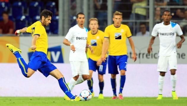 In 146 Spielen für St. Pölten erzielte Daniel Segovia stolze 71 Tore. (Bild: DIENER / Philipp Schalber)