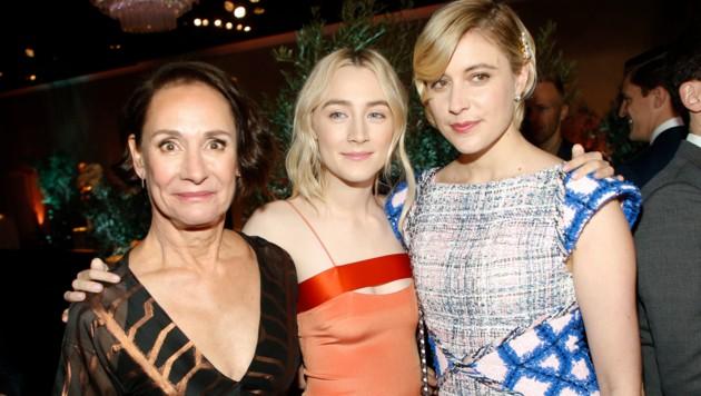 Laurie Metcalf, Saoirse Ronan, Greta Gerwig