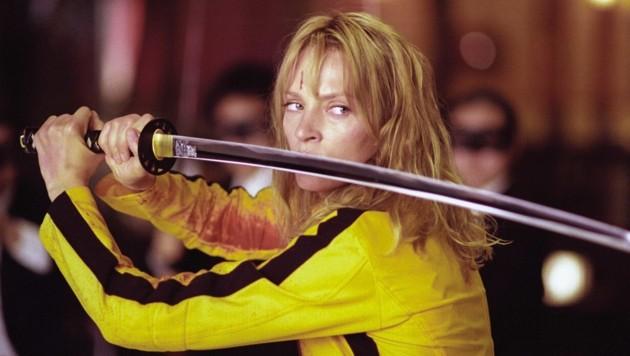 """Uma Thurman """"Kill Bill 1"""" (Bild: Moviestore Collection/face to fa)"""