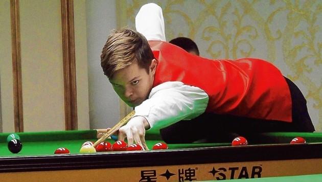 Snooker-Ass Florian Nüßle (Bild: EBSA/Derek Kiely)