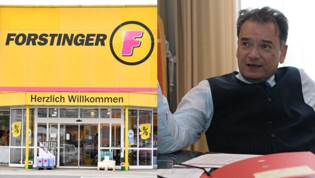 Die Pleite des Autozubehör-Spezialisten Forstinger trifft die Doppler-Gruppe, hier Bernd Zierhut, nicht. (Bild: Harald Dostal, FOTO LUI)