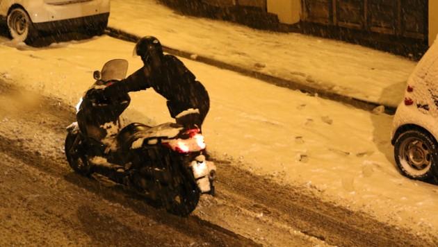 Frankreich: Schneechaos sorgt für Ausnahmezustand