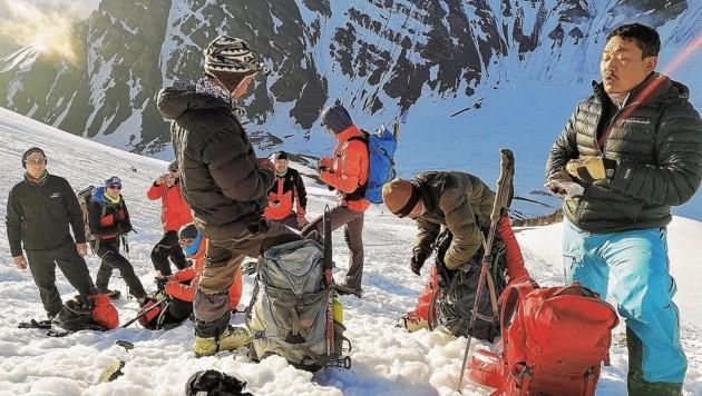 Trekking-Tour auf dem Stok Kangri
