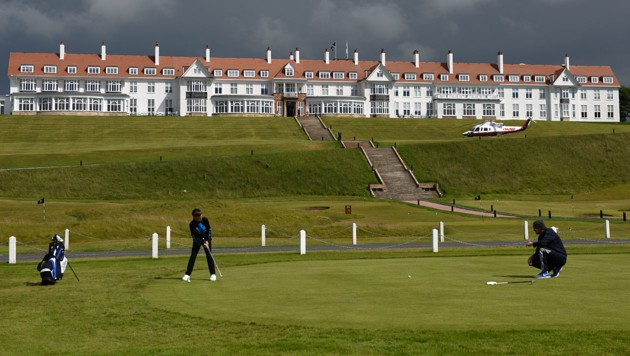Donald Trumps Turnberry Hotel und Golf Resort in Schottland (Bild: AFP/Oli Scarff)