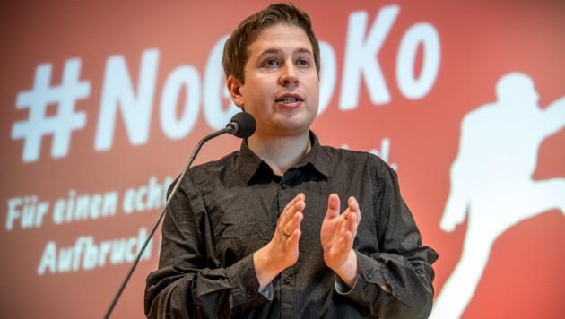 Juso-Chef Kevin Kühnert kämpft gegen das Parteiestablishment.