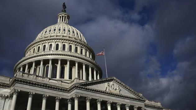 Der US-Senat in Washington (Bild: APA/AFP/GETTY IMAGES/WIN MCNAMEE)