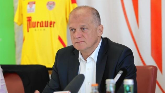 Kapfenberg-Präsident Erwin Fuchs (Bild: Sepp Pail)