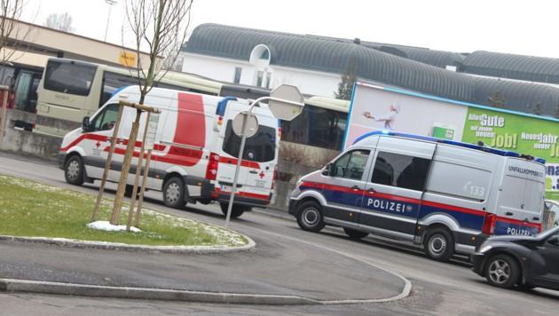 Bei dem Unfall in Wels wurde ein Bub verletzt. (Bild: laumat.at / Matthias Lauber)