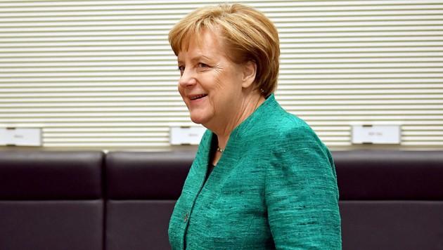 Kanzlerin Angela Merkel (CDU) steht vor ihrer vierten Amtszeit. (Bild: APA/AFP/dpa/Britta Pedersen)