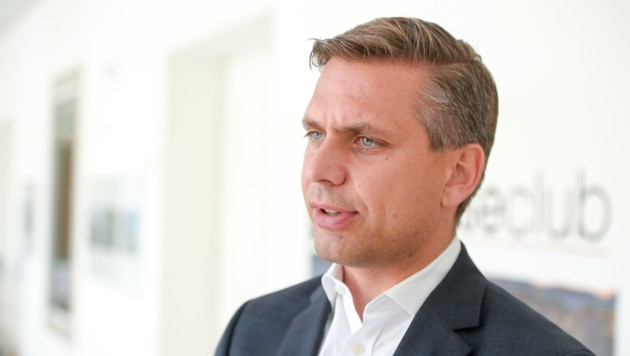 ÖVP-Landesgeschäftsführer Wolfgang Hattmannsdorfer