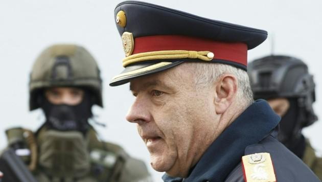 Bernhard Treibenreif, Direktor des Einsatzkommandos Cobra (Bild: APA/ERWIN SCHERIAU)
