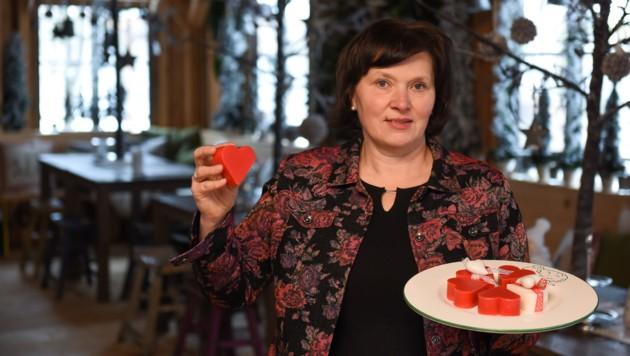 Im Alter von 15 Jahren verkaufte Florex-Chefin Gerlinde Hofer auf einem Marktstand Gewürze und Trockenblumensträuße.
