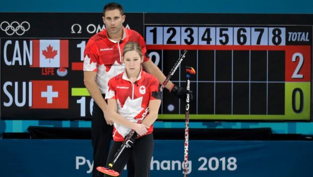 Kaitlyn Lawes und John Morris holten Gold (Bild: AP)