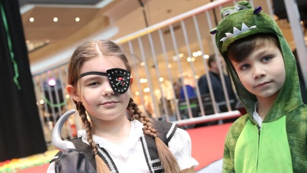 Kinderfasching in der Rieder Weberzeile. (Bild: Pressefoto Scharinger © Daniel Scharinger)