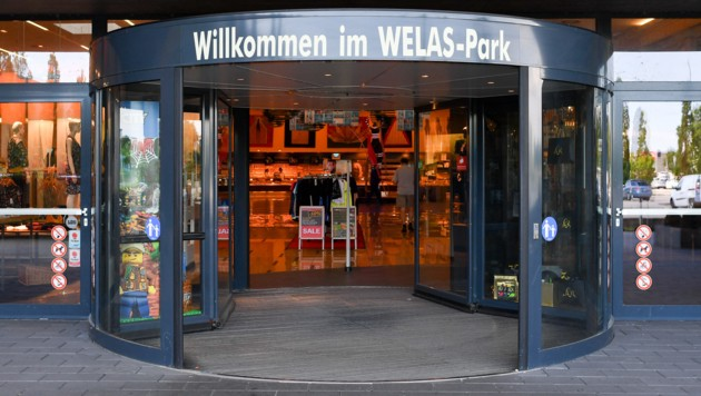 Der Welas-Park in Wels wechselt am 1. Juli seinen Besitzer. (Bild: Harald Dostal)