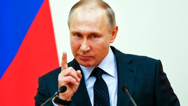 Stein des Anstoßes: Russlands Präsident Putin