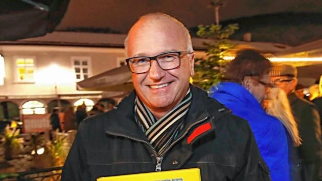 """Caritas-Direktor Johannes Dines: """"Ende der Kapazitäten!"""" (Bild: Markus Tschepp)"""