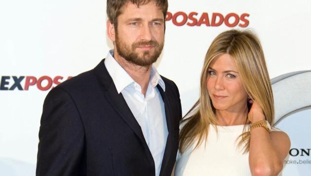 Jennifer Aniston und Gerard Butler 2010 in Madrid (Bild: www.photopress.at)