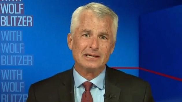 Philipp Mudd, Terrorexperte des Fernsehsenders CNN, brach vor laufenden Kameras in Tränen aus.