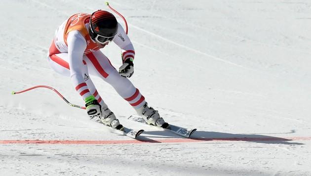 Matthias Mayer flitzt über die Ziellinie zu Olympia-Gold!