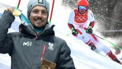Marcel Hirscher erobert sein zweites Gold bei den Olympischen Spielen (Bild: AFP)
