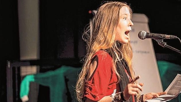 Auch Birgit Hlavka, bekannt als Akitas, war dabei. (Bild: Nadia Tosetti)