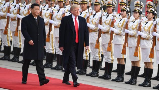 Chinas Präsident Xi Jinping und US-Präsident Donald Trump