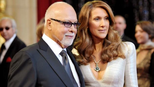 Rene Angelil und Celine Dion (Bild: 2011 Getty Images)