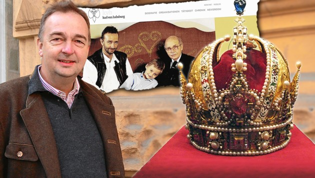 (Bild: commons.wikimedia.org, Karl Schöndorfer, karlvonhabsburg.at, krone.at-Grafik)