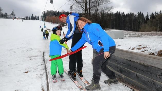 Skifahren Wimmerlift kleine Skigebiete Graz Umgebung (Bild: Jürgen Radspieler)