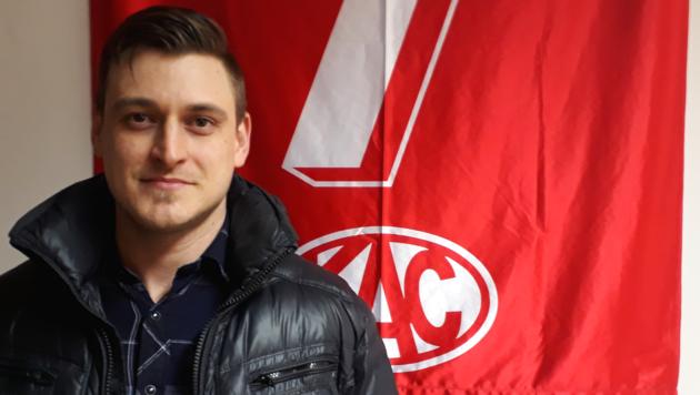 Der neue KAC-Verteidiger Nick St. Pierre. (Bild: KAC)