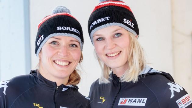 Christina Hengster und Valerie Kleiser
