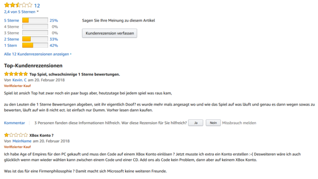 (Bild: Screenshot amazon.de)