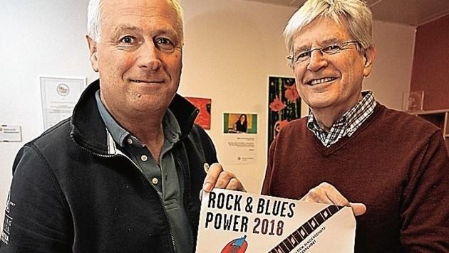 Peter Trattner und Willie Helminger (Bild: Grill Max/Kronenzeitung)