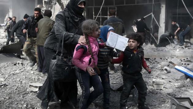 Bilder des Grauens aus Ost-Ghouta