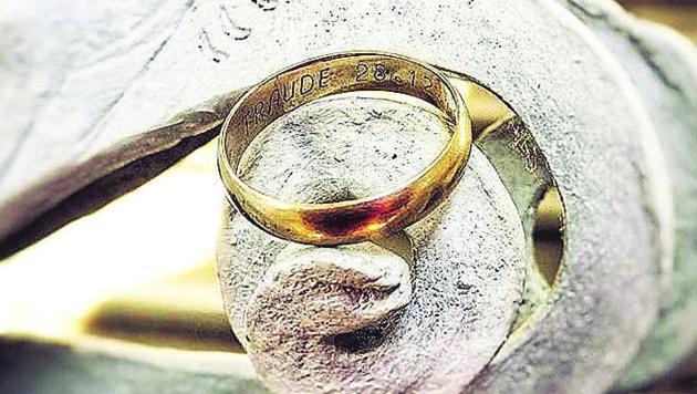 Dieser Ring sucht seinen Besitzer (Bild: Stift St. Florian)
