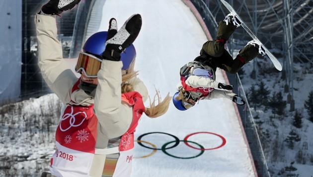 Anna Gasser fliegt zu Gold bei Olympischen Spielen