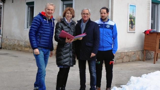 LHStv. Gaby Schaunig sicherte die Mittel für den Tierheim-Neubau.