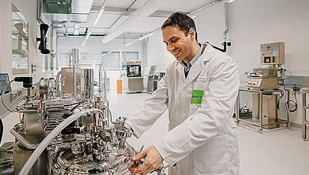 Das Entwicklungs- und Innovationszentrum von Merck bietet den Mitarbeitern nun mehr Platz für die Entwicklung von neuen Rezepturen. (Bild: Merck Spittal)