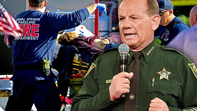 Sheriff Scott Israel musste Fehler seiner Mitarbeiter einräumen.