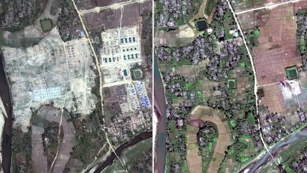 Myanmar: Militär walzt muslimische Dörfer nieder