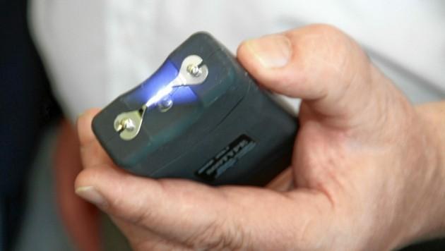Elektroschocker gelten als verbotene Waffen