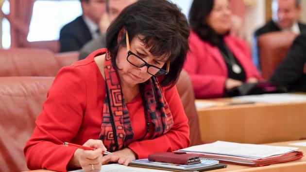 SPÖ-Landeschefin und Soziallandesrätin Birgit Gerstorfer
