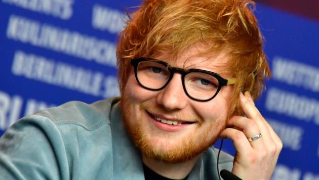 Ed Sheeran bei der Berlinale (Bild: AFP or licensors)