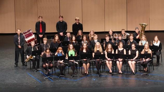Die St. Peter High School Band aus Minesota (Bild: St. Peter High School Band)