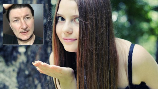 Natasha Serebriy und ihr Peiniger (Bild: facebook.com)